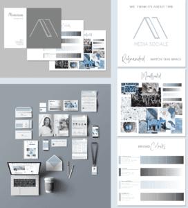 Business Branding Package 3 | Media Sociale
