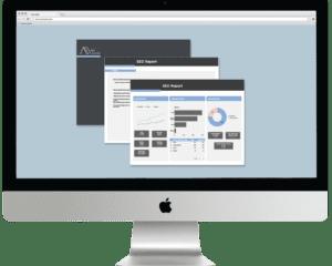 Media Sociale Marketing Agency Australia SEO report in computer